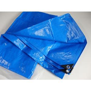 ブルーシート  3.6mx5.4m(2間×3間)厚手#3000コーナーガード付き|pro-yama