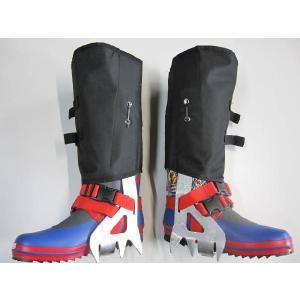 スベランチャ 防滑スパイク 、斜面作業足具 pro-yama
