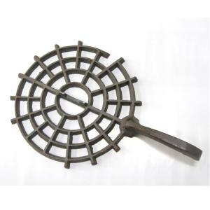 ダルマストーブ ロストル,サナ 鋳物製(7型用)|pro-yama