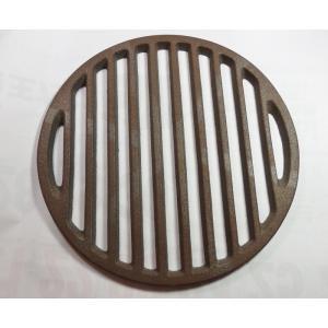 丸ス210mm(目皿、丸サナ,ロストル)鋳物製