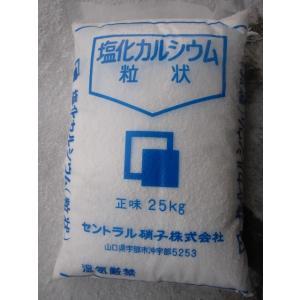 塩化カルシウム国産 25Kg 融雪剤 塩カル|pro-yama