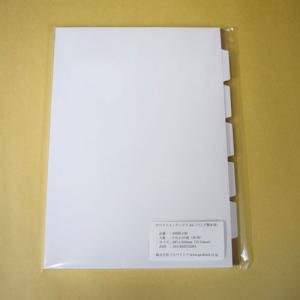 プロバインド ホワイトインデックス A4/5山/10組入り 405M-10S probind-shop