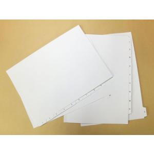 プロバインド ホワイトインデックス タブ部オンデマンド印刷付 10山/5組 probind-shop