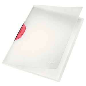 【まとめ買い6冊入り】LEITZ ライツ カラークリップマジック レッド 4174-00-25|probind-shop
