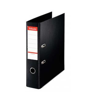 エセルテ レバーアーチファイル75mm/A4/ブラック【まとめ買い10冊】 48067|probind-shop