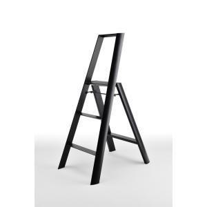 デザイン脚立 lucano 3-STEP ルカーノ3段 ブラック ML2.0-3-BK probind-shop
