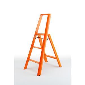デザイン脚立 lucano 3-STEP ルカーノ3段 オレンジ ML2.0-3-OR probind-shop