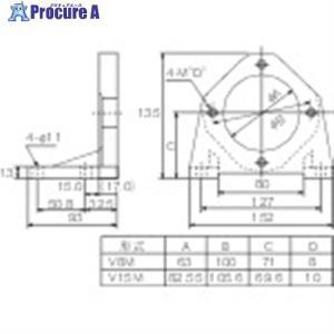 ダイキン ピストンポンプ用フート V38M ▼101-5559 ダイキン工業(株)|procure-a