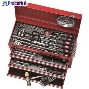 KTC 工具セット(チェストタイプ) SK4586X ▼307-3343 京都機械工具(株)|procure-a