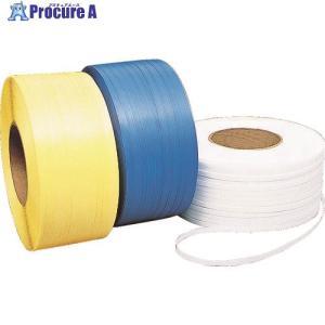 積水 梱包機用PPバンド Hタイプ 12.0×3000m ブルー12H-B ▼382-7259積水樹脂(株)|procure-a