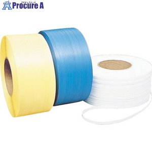 積水 梱包機用PPバンド SSストラップ 12.0×3000m ブルー12SS-B ▼382-7283積水樹脂(株)|procure-a