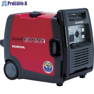 【送料無料】HONDA/本田技研 防音型インバーター発電機2.6kVA(交流/直流) EU26IN1JN(EU26i) ▼451-5200[268200][APA][Y80] 【代引決済不可】|procure-a