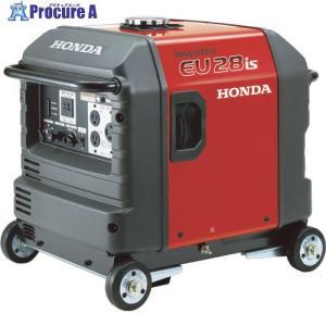 【送料無料】HONDA/本田技研 防音型インバーター発電機 2.8kVA(交流/直流)セル付/車輪付 EU28IS1JNA3(EU28is) ▼451-5218[313200][APA][Y80]|procure-a