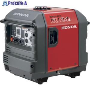 【送料無料】HONDA/本田技研 防音型インバーター発電機 2.4kVA(交流/直流)車輪無 EU24IK1JNA2(EU24i) ▼794-5043[229500][APA][Y80]|procure-a