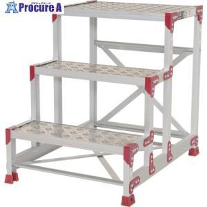 ピカ 作業台 ZG−P型縞板仕様 3段 幅60cm高さ75cmZG-3675P ▼795-0667(株)ピカコーポレイション|procure-a