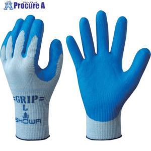 ショーワ まとめ買い 簡易包装強力グリップ Mサイズ ブルー (10双入)NO360-M10P ▼818-6281ショーワグローブ(株)|procure-a