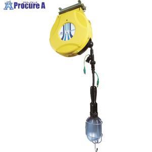 日平 リール ランプリール 10M 125V/10A(コード引き出し時)HEP-610HL-Y ▼829-0725日平機器(株)|procure-a