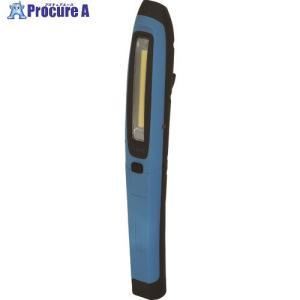 日動 LEDハンドライト 充電式LEDスティックハンディーLEH-1P5W-CH-B ▼835-7687日動工業(株)|procure-a