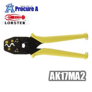 ロブテックス AK17MA2 リングスリーブ E 用ミニ圧着工具 使用範囲小 1.6x2 ・小・中 356-7818 4009 APA の商品画像