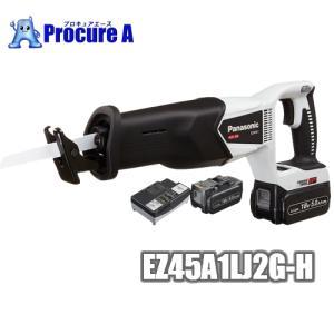 【金工刃5本・ビール券付!】【数量限定特価】【あすつく】 Panasonic/パナソニック EZ45A1LJ2G-H(グレー) 充電レシプロソー デュアル(Dual) 18V 5.0Ah procure-a