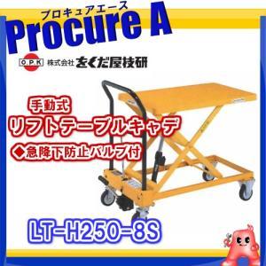 【送料無料】 をくだ屋技研 リフトテーブルキャデ LT-H250-8S  [K] 【代引決済不可】|procure-a