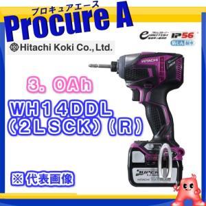 【あすつく】【送料無料】HITACHI/日立工機   WH14DDL(2LSCK)(R) [34352F][APA] パワフルレッド(赤)  充電インパクトドライバー 14.4V 3.0Ah|procure-a