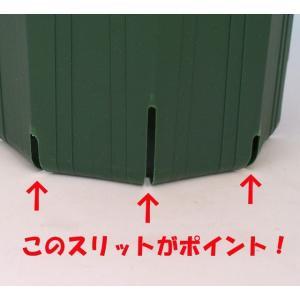 のびのび育つ 『 スリット鉢 』 20.5cm (7号) 送料無料 3個セット|produce87|04