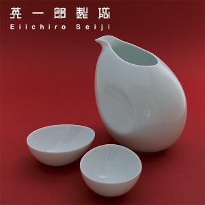 とっくり&おちょこエッグセット - 白磁カップ 小鉢 波佐見焼の窯元がルーツ - 英一郎製磁|product-factory-jp