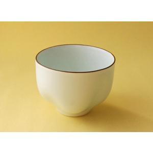 【英一郎製磁】フリーグラス丸・雲/青白釉|product-factory-jp