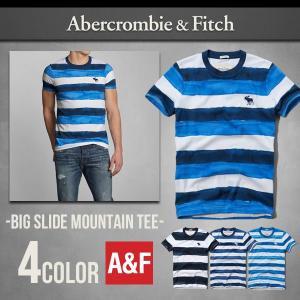 本物保証 アバクロ Tシャツ アバクロンビー&フィッチ BI...