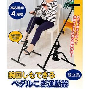 【あすつく】【送料無料】電気も使わず、騒音も出ない、椅子に座りながらマイペースにエクササイズ、運動が...
