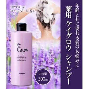 シャンプー 頭皮洗浄 薄毛 ノンシリコン 薬用 ケイグロウ シャンプー 300ml|profit