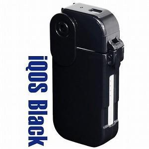 iQOS アイコス ケース 電子タバコ for iQOS アイコス用ハードケース ワンタッチロック機能搭載 ブラック|profit