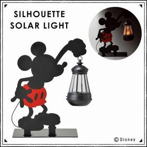 ガーデンライト 照明 ソーラーライト セトクラフト Disney シルエットソーラーライト(ミッキー) SD-6071-680|profit