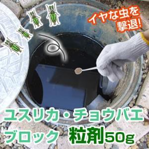 殺虫剤 害虫予防 駆除 ユスリカ・チョウバエブロック粒剤50g|profit