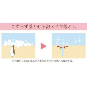 洗顔 メイク落とし クレンジング ミラヴィ プラス(Miravy+) ホイップクレンジングウォッシュ 130g profit 02