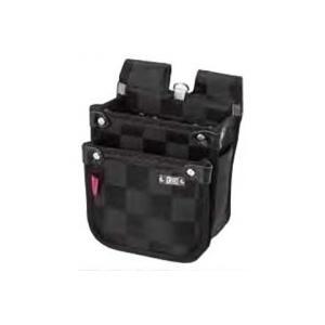 基陽 龍牙ウエストバッグ背割 小 RY243S ブラック|profit