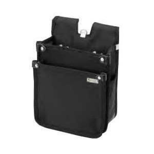 基陽 超軽量ウエストバッグ 背割タイプ 22243 ブラック|profit