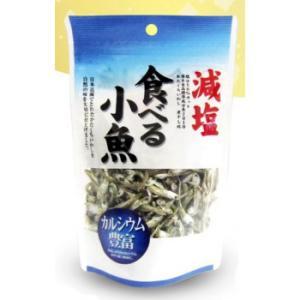 フジサワ 日本産 減塩 食べる小魚(60g) ×10セット 減塩で仕上げたかたくちいわし!!|profit
