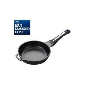パール金属 HB-1209 ブルーダイヤモンドコートIH対応フライパン20cm|profit