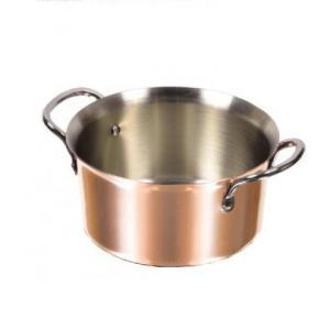 パール金属 HB-1381 銅職人 しゃぶしゃぶ鍋14cm 純銅調理器具。|profit