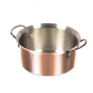 パール金属 HB-1382 銅職人 しゃぶしゃぶ鍋16cm 純銅調理器具。|profit