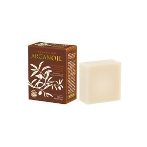 手作り無添加自然派石鹸 セレクトオイル アルガンソープ 110g 泡立てネット付|profit