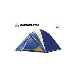 CAPTAIN STAG レニアス ドームテント(5〜6人用)(キャリーバッグ付) M-3106 ベーシックで5〜6人用の居住スペースのある大型ドームテント。|profit