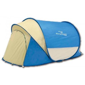CAPTAIN STAG シャイニーリゾート ポップアップシェルターUV(ブルー) UA-0004 ビーチやピクニック等に最適!|profit