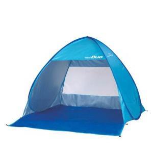 CAPTAIN STAG シャイニーリゾート ポップアップテント デュオUV(ブルー) M-5787 ビーチやピクニックに最適。|profit