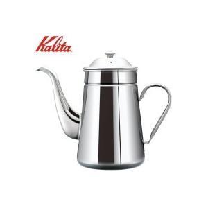 【送料無料】丈夫なステンレス製コーヒーポット☆丈夫で保温性が高い、ステンレス製のコーヒーポットです。...