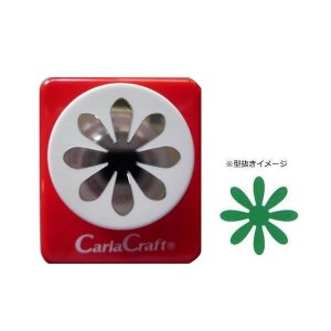 Carla Craft(カーラクラフト) ミドルサイズ クラフトパンチ デイジー カードやスクラップブッキングに最適なクラフトパンチ♪ profit