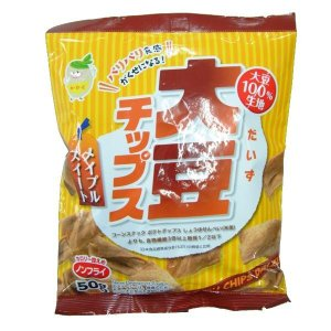 ノンフライ!  大豆チップス メイプルスイート 50g×10袋セット パリパリ食感がくせになる、ノンフライ大豆100%チップス!!|profit