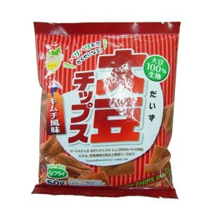 ノンフライ!  大豆チップス キムチ 50g×10袋セット|profit
